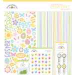 Doodlebug Design - Bunny Hop Collection - Easter - Essentials Kit