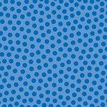 Doodlebug Design - La Di Dots - 12 x 12 Velvet Flocked Paper - Blue Jean, CLEARANCE