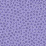 Doodlebug Design - La Di Dots - 12 x 12 Velvet Flocked Paper - Lilac, CLEARANCE