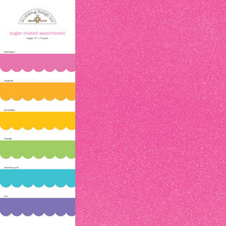 Doodlebug Design - Sugar Coated - 12 x 12 Paper Assortment - Bright