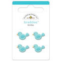 Doodlebug Design - Zoofari Collection - Brads - Birdies Braddies, CLEARANCE