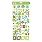 Doodlebug Design - Key Lime Collection - Cardstock Stickers - Icons