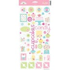 Doodlebug Design - Confections Collection - Sugar Coated Cardstock Stickers - Icons