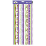 Doodlebug Design - Sugar Plum Collection - Sugar Coated Cardstock Stickers - Fancy Frills