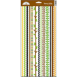 Doodlebug Design - Zoofari Collection - Cardstock Stickers - Fancy Frills