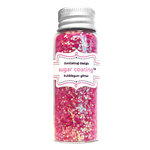 Doodlebug Design - Sugar Coating - Chunky Glitter - Bubblegum, CLEARANCE