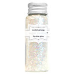 Doodlebug Design - Sugar Coating - Chunky Glitter - Lily White