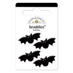 Doodlebug Design - Trick or Treat Collection - Halloween - Brads - Batties Braddies