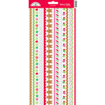 Doodlebug Design - Christmas Candy Collection - Sugar Coated Cardstock Stickers - Fancy Frills