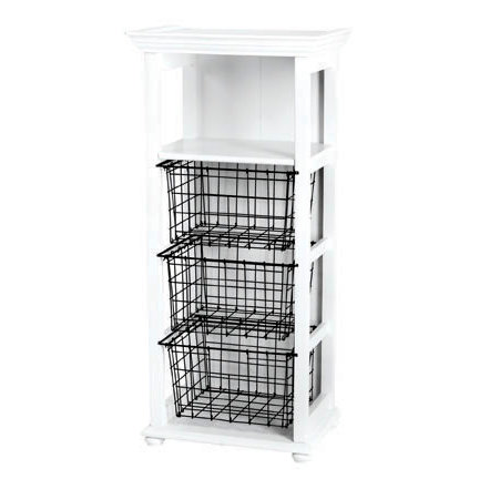 Doodlebug Design - Fashion Furnishings Collection - Craft Cubby - White