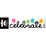 Doodlebug Design - Headlines Collection - Cardstock Stickers - Celebrate