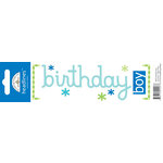 Doodlebug Design - Headlines Collection - Cardstock Stickers - Birthday Boy