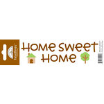 Doodlebug Design - Headlines Collection - Cardstock Stickers - Home Sweet Home