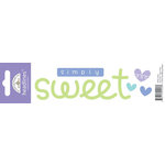 Doodlebug Design - Headlines Collection - Cardstock Stickers - Sweet