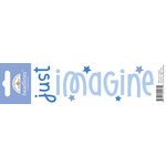 Doodlebug Design - Headlines Collection - Cardstock Stickers - Imagine