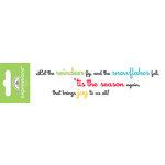 Doodlebug Design - Expressions Collection - Christmas - Rub Ons - Tis The Season