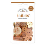 Doodlebug Design - Tidbits Embellishment Packs - Bon Bon Assortment, CLEARANCE