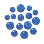 Doodlebug Design - Chunky Brads - Blue Jean, CLEARANCE
