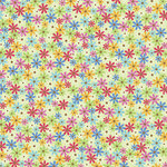Doodlebug Design - Feeling Groovy Collection - 12 x 12 Paper - Flower Power