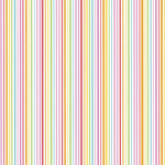 Doodlebug Design - Summertime Collection - 12 x 12 Paper - Rainbow Sherbet