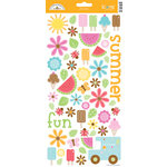 Doodlebug Design - Summertime Collection - Cardstock Stickers - Icons