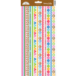 Doodlebug Design - Feeling Groovy Collection - Cardstock Stickers - Fancy Frills