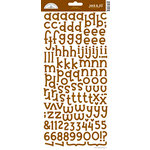 Doodlebug Design - Jack and Jill Collection - Alphabet Cardstock Stickers - Bon Bon, CLEARANCE