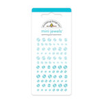 Doodlebug Design - Jewels Adhesive Rhinestones - Mini - Swimming Pool