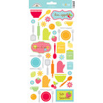 Doodlebug Design - Bon Appetit Collection - Cardstock Stickers - Icons