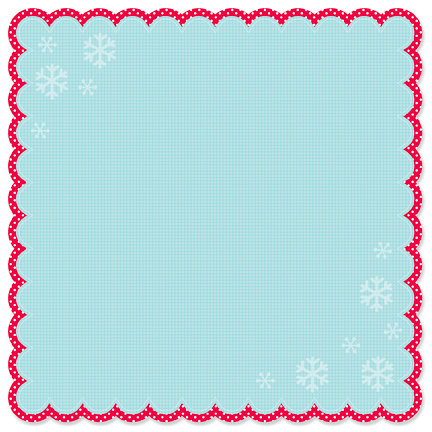 Doodlebug Design - Happy Holidays Collection - 12 x 12 Die Cut Paper - Happy Holidays