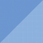 Doodlebug Design - Petite Prints Collection - 12 x 12 Double Sided Paper - Dot Grid Blue Jean