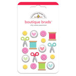 Doodlebug Design - Nifty Notions Collection - Boutique Brads - Assorted Brads - Nifty Notions