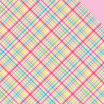 Doodlebug Design - Nifty Notions Collection - 12 x 12 Double Sided Paper - Sew Plaid