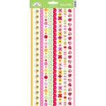 Doodlebug Design - Ladybug Garden Collection - Sugar Coated Cardstock Stickers - Fancy Frills