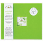 Doodlebug Design - 12 x 12 Storybook Album - Limeade