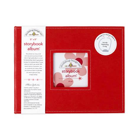 Doodlebug Design - 8 x 8 Storybook Album - Ladybug