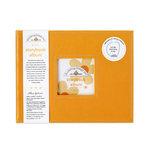 Doodlebug Design - 8 x 8 Storybook Album - Tangerine
