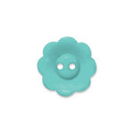 Doodlebug Design - Oodles - Buttons - Flower - 19 mm - Swimming Pool 2