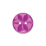 Doodlebug Design - Oodles - Buttons - Round - 19 mm - Plum