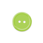 Doodlebug Design - Oodles - Buttons - Round - 19 mm - Limeade 2
