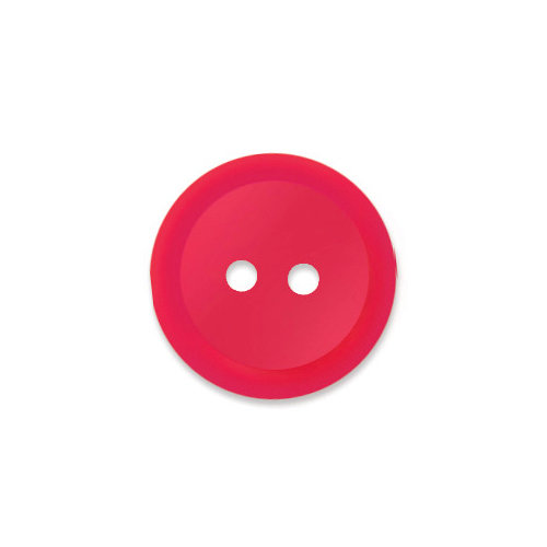 Doodlebug Design - Oodles - Buttons - Round - 19 mm - Ladybug 2
