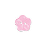 Doodlebug Design - Oodles - Buttons - Flower - 15 mm - Cupcake