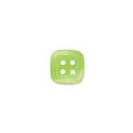 Doodlebug Design - Oodles - Buttons - Square - 13 mm - Limeade