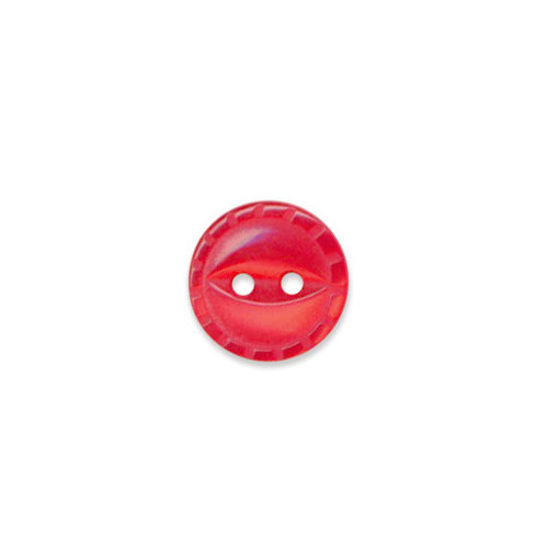Doodlebug Design - Oodles - Buttons - Round - 13 mm - Ladybug