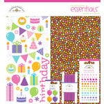 Doodlebug Design - Cake and Ice Cream Collection - Essentials Kit