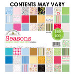 Doodlebug Design - Designer Paper Value Pack - Seasons