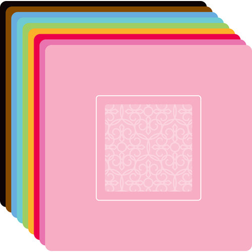 Doodlebug Design - Create-A-Card - Square - Cards and Envelopes - Baroque
