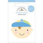 Doodlebug Design - Doodle-Pops - 3 Dimensional Cardstock Stickers - Baby Boy