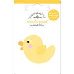 Doodlebug Design - Doodle-Pops - 3 Dimensional Cardstock Stickers - Duckie