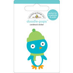 Doodlebug Design - Doodle-Pops - 3 Dimensional Cardstock Stickers - Mr. Penguin